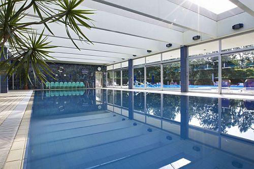 Belső medence a Hotel Annabellában akciós félpanziós wellness hétvégére