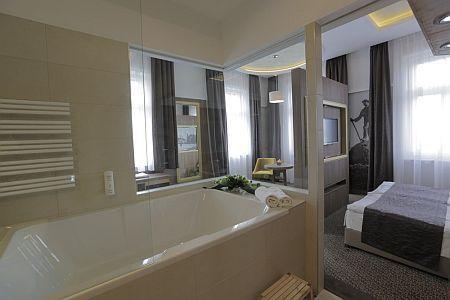 Duna wellness hotel kétágyas szobája, szálloda Baján