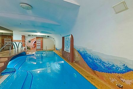 Wellness Hotel Duna Baja gőzfürdője akciós félpanziós wellness hétvégére
