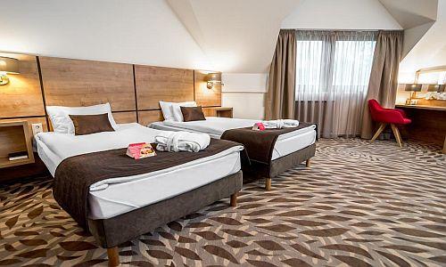 4* Hotel Rubin megfizethető kétágyas szobája Budapesten