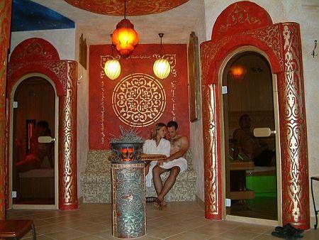 Hotels in Pápa - Sauna a Pápai Villa Classica szállodában - 4 csillagos szálloda Pápán