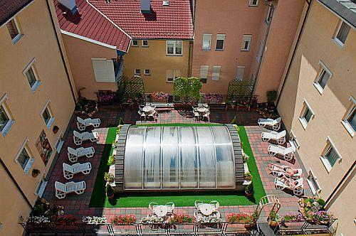 Luxus apartman hotel Hévízen - Hotel Palace apartman szálloda Hévízen