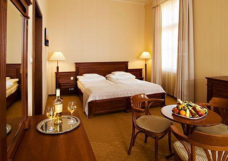 4* szép és csendes kétágyas szoba Balatonfüreden akciós áron