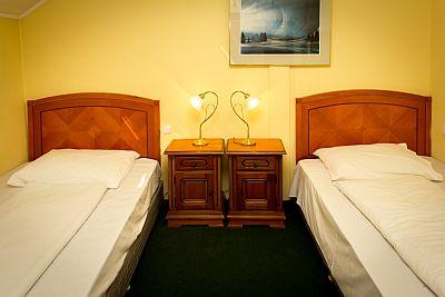 Olcsó szálloda Budapest centrumában, City Hotel Unio szabad szobája akciós áron