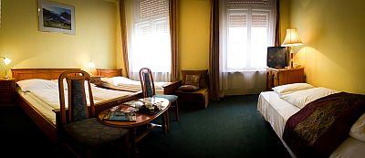 City Hotel Unio - szállás Budapest centrumában akciós áron