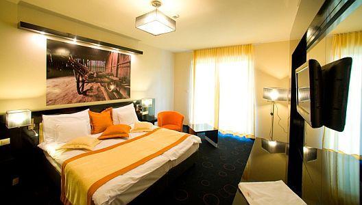 Gotthard Therme Wellness szálloda akciós szabad kétágyas szuperior szobája Szentgotthárdon