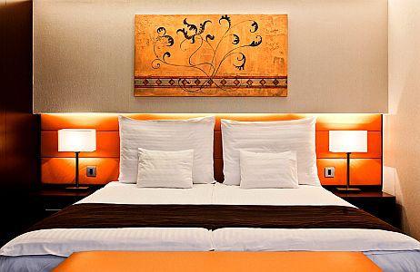 Abacus Wellness Hotel - akciós hotelszobája félpanzióval Herceghalmon