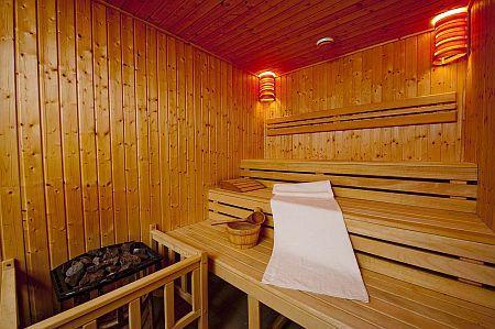 Hotel Abacus herceghalmi szálloda szaunája wellness hétvégére