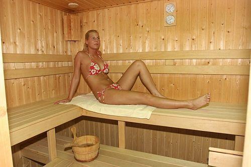 Zichy Park Hotel szaunája Bikácson wellnesst kedvelőknak