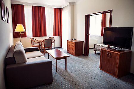 Hotel Karos Spa**** Zalakaros légkondicionált családi szobája