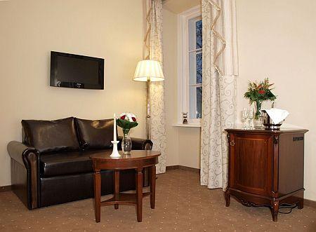 La Contessa Kastélyhotel 4*- romantikus kétágyas szoba Szilvásváradon