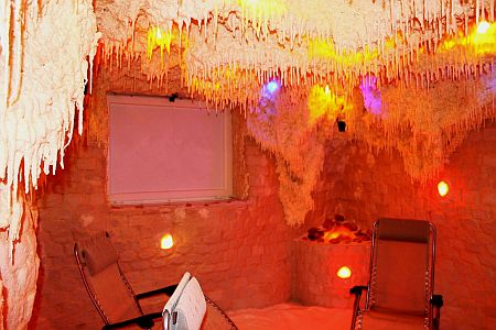 Zenit Hotel**** Vonyarcvashegy fényterápiás sóbarlangja