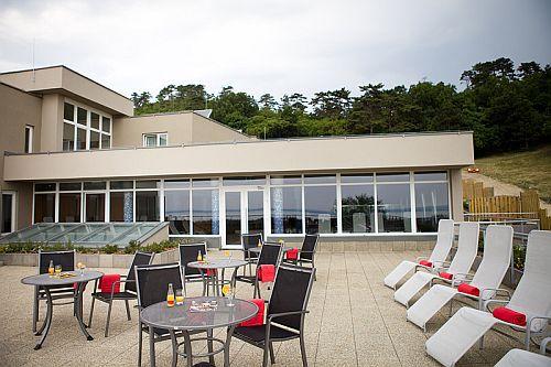 4* Zenit Hotel Balaton Vonyarcvashegy tetőterasza
