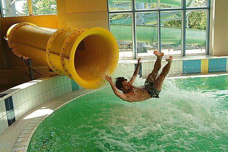 Hotel Corvus Aqua**** élménymedencéje wellnesst kedvelőknek
