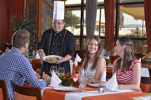 Hotel Sopron**** étterme elegáns és romantikus környezetben Sopronban