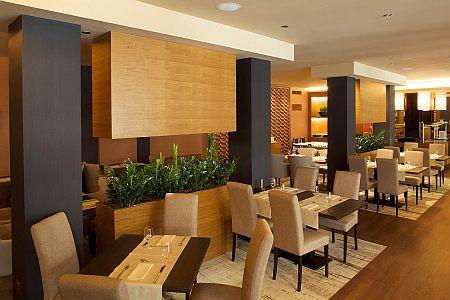 Sheraton Hotel 4* kecskeméti hotel elegáns szép étterme