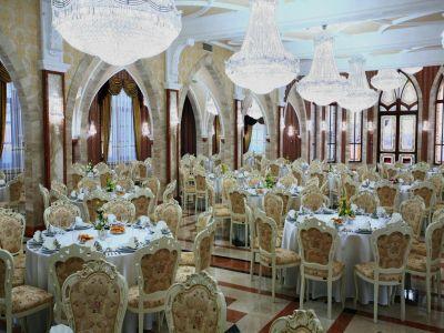 Hotel Borostyán Nyíradony étterme szállóvendégeknek teljes ellátással