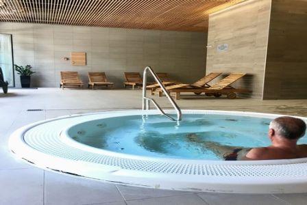 4* Akadémia Wellness Hotel Balatonfüred szép jacuzzija