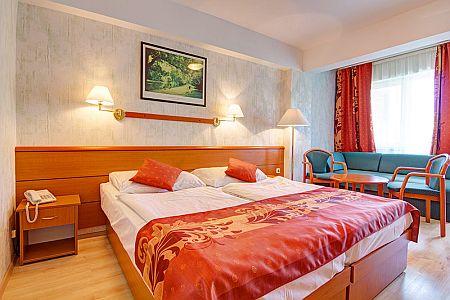 3* olcsó hotelszoba a Balatonnál wellness szolgáltatással