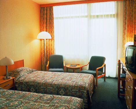 Margitszigetre néző szoba a Termál Hotel Heliában