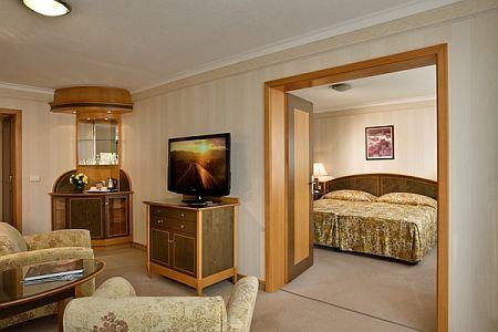 4* Termál Hotel Margitsziget szobája Budapesten