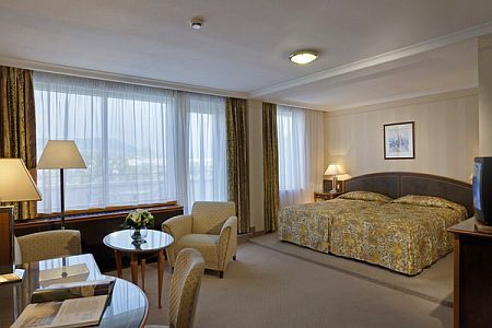 4* Health Spa Hotel Margitsziget szobája Budapesten
