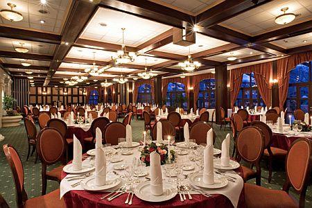 4 csillagos hotel a Margitszigeten - étterem - Grand Hotel Margitsziget étterme