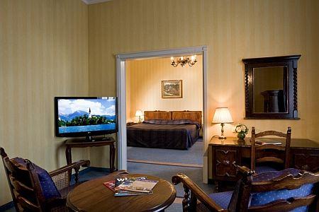 Margitsziget Grand Hotel**** szobája akciós áron