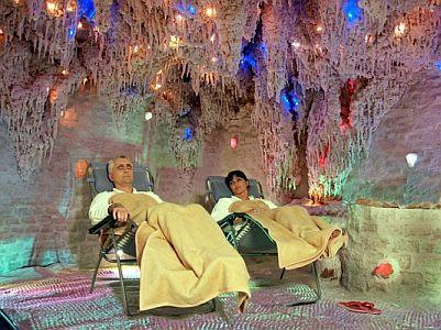 Grand Hotel Margitsziget**** sóbarlangja asztmásoknak
