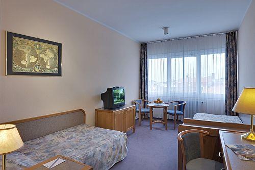 Szálloda Győr belvárosában a Hotel Rába City Center