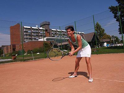 Termál Hotel Bük, teniszezési lehetőség Bükfürdőn