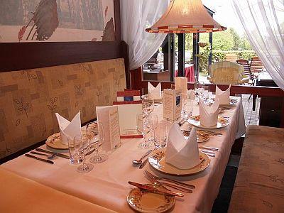 Termál Hotel Bük étterme all inclusive ellátással akciós áron