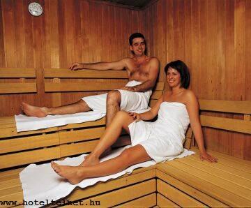 Termál Hotel Bük szaunája akciós wellness hétvégére Bükfürdőn