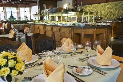 Termál Hotel Sárvár étterme félpanzióval akciós áron